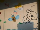 太原幼儿园墙面手绘 维修改造墙面 彩绘墙 幼儿园彩绘墙壁