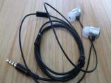 专业生产 金属入耳式耳机 滴胶LOGO耳