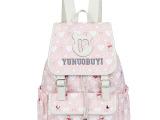 新款少女学生时尚休闲帆布女包旅行双肩背包初中生韩版书包批发