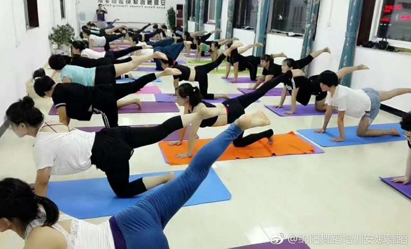 绵阳游仙区老龙山安娜舞蹈成人舞蹈儿童舞蹈培训中心