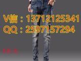 梅州哪里地摊货外贸时尚杂款牛仔裤批发厂家直销韩版休闲小脚裤