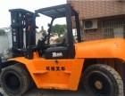 成都供應原裝二手杭州10噸門架4米高度叉車價格8萬元
