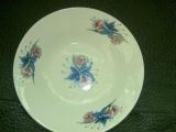 厂家供应9寸陶瓷盘子,色拉碗,平盘,配套