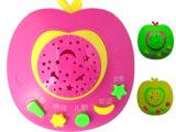 早教苹果故事机学习机 儿童故事机投影早教机讲故事 儿童故事玩具