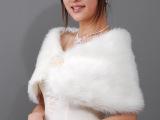 新娘毛披肩-婚纱披肩新娘披肩-珍珠球按扣 yt1024814