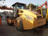 西安9成新22吨振动压路机优质货源