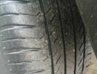 一套四只纯进口蝙蝠牌轮毂235/60R18轮胎还能跑四万公里