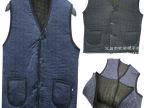 冬季加大加厚拉绒中老年男式马甲 爸爸款保暖棉马甲 厂家直销