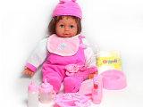 六一节礼物送礼抢购超漂亮塑胶婴儿仿真娃娃芭比女孩玩具