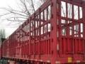 低价出售二手13米对开门高栏半挂车 购车签订法律合同