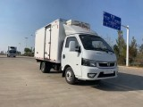 急转 东风途逸国六蓝牌柴油小型冷藏车 蔬菜水果鲜货运输车