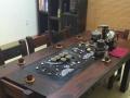 安阳老船木家具批发古船木茶几原生态船木桌椅组合客厅茶几