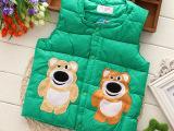 童马甲 14年冬季新款童装 厂家直销小童马甲 韩版热销女童羽绒棉