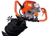 热销大马力手提式挖坑机 葡萄种植埋桩挖坑机
