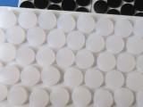 厂家直销批发 透明硅胶垫 橡胶防滑垫 密封垫圈 3M背胶橡胶垫