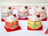 嘉年华正品陶瓷招财猫开运猫祝愿猫汽车装饰摆件 五款