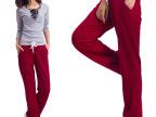 2014秋款韩版女裤运动裤女休闲裤大码长裤纯棉瑜伽宽松直筒裤