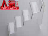 亚克力钱包陈列架展示架皮具架精品饰品多用途展架热卖透明1-4层