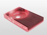 东莞精密五金电子 电脑主板结构件材料 CNC电脑车圆显卡散热器