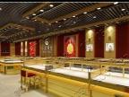福州精品展示柜制作黄金展示架奢侈品展示柜