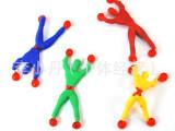 小超人  儿童玩具  蜘蛛人/粘性蜘蛛侠/爬墙超人/攀岩小人/爬