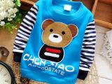 15秋冬新款童装品牌 不倒绒小童保暖 婴幼儿加厚针织衫长袖童t恤