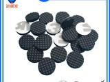 厂家直销黑色硅胶垫 格纹防滑硅胶脚垫网格3M背胶硅胶脚垫包邮