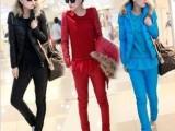 供应外贸女装女式休闲套装 精品套装 品牌折扣女装 非主流AA12