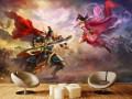 网咖壁画/网咖文艺壁画/网咖壁画壁纸/姿彩壁画