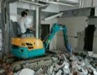 金坛微型小挖机出租带破碎价格低
