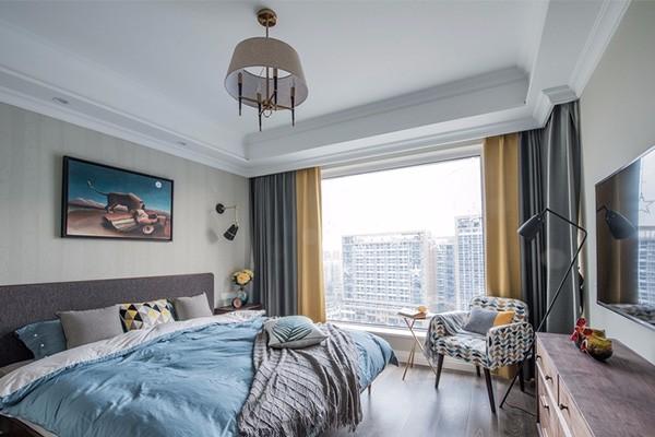 100平三居室混搭装修,美观又实用的装修