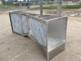 6号不锈钢巴歇尔槽B 250量水堰槽
