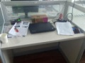 9成新办公桌低价出售