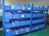 深圳兄弟货架 四层板放胶箱中型货架