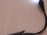 1个LED灯带夹子 夹子灯笔记本灯台灯厂家直销