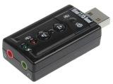厂家供应USB声卡 usb7.1外置声卡 笔记本电脑声卡免驱 支