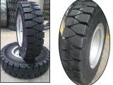 优质免充气工具车轮胎10.00-24港口车叉车用胎