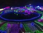 专业展览设备黄金马车鲸鱼岛互动百变灯光节互动展