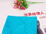韩国进口竹纤维洗碗巾 不沾油洗碗布 去油去污抹布 5色