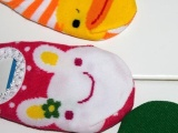 防滑地板袜 连裤袜花边船袜 儿童袜套童袜