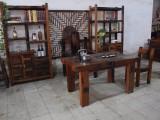 供应老船木个性茶桌组合船木茶台功夫茶茶桌椅阳台实木小茶艺桌