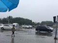 海宝公园东门丽人妇产医院 车位 800平米停车场出租