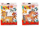 火爆玩具EM71认证塑胶玩具猫、马手工玩具 BT-0054A