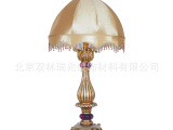 北京双林做工精细创意奢华卧室台灯 别致百搭欧式台灯定做