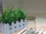 140ml 高四方玻璃瓶 阿胶瓶 药丸瓶 固体颜料瓶 玻璃瓶
