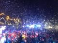 专供商业活动雪花机广场人气飘雪机,1比30浓缩雪花油