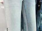 牛仔裤走量促销浅色牛仔短裤弹力长裤夏天款