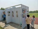 ,上海静安书画展板租赁,摄影展展板出租安装