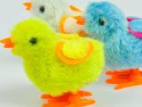 可爱毛绒鸡玩具 上链鸡 发条小鸡 玩具 外贸玩具