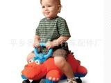 儿童毛绒滑行车扭扭车婴儿车学步车多功能